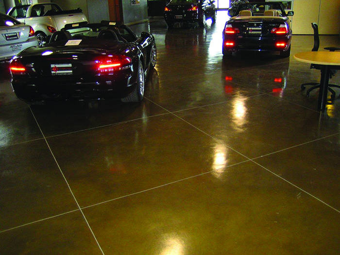 Dealership floor