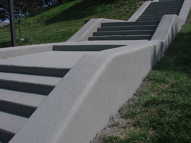 MPC Close Up - Stairs