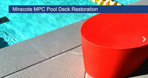 Miracote MPC Pool Deck Restoration