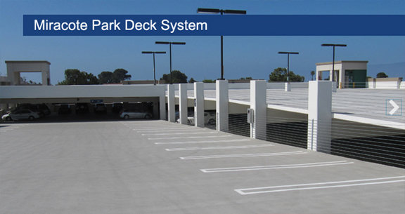 Miracote Parking Deck System