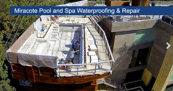 Miracote Pool and Spa Waterproofing and Repair